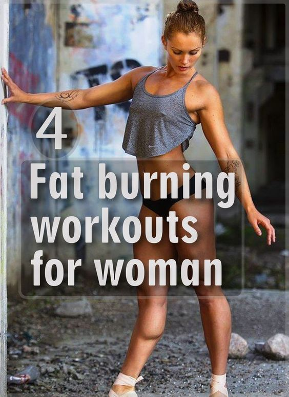 4 Fat Burning Workouts For Women