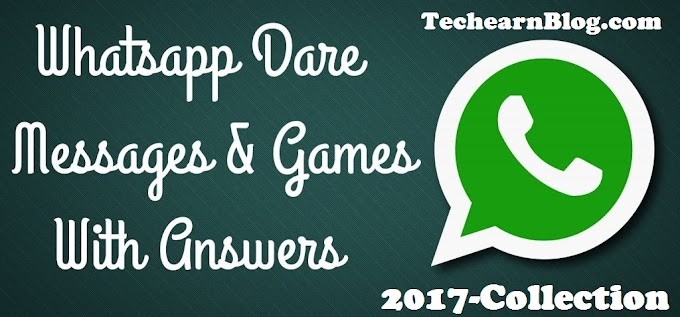 10 Latest Whatsapp Dare Messages With Answer - 2020 (New)