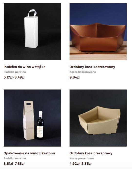 Pudełka na wino producent