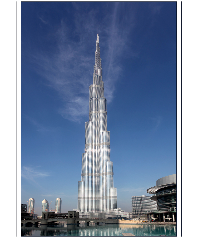World Visits: Burj Khalifa World Tallest Tower Inside Attraction