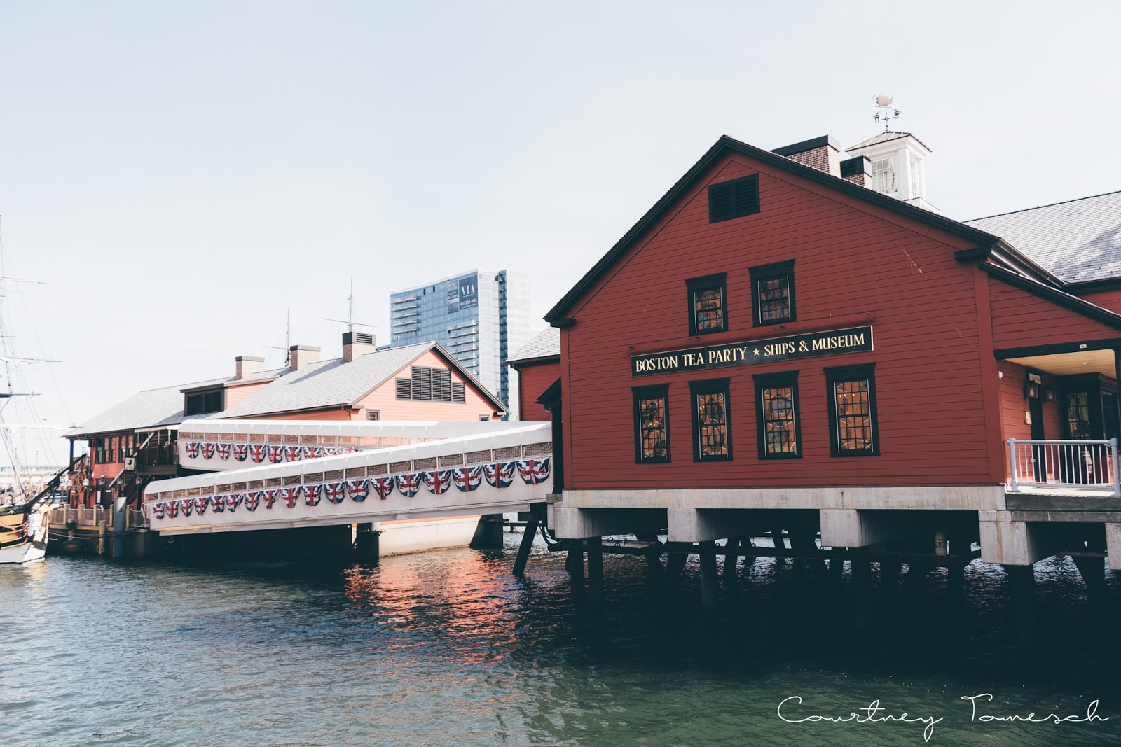Courtney Tomesch Exploring: Boston Tea Party