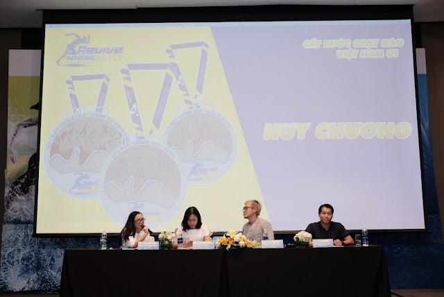 Hàng loạt sao đến tham dự sự kiện Revive Marathon Xuyên Việt 13