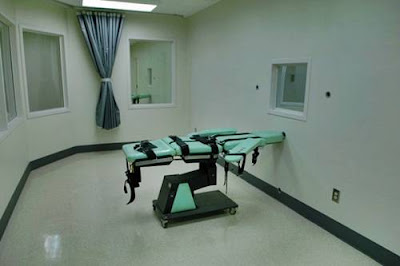 San Quentin's death chamber