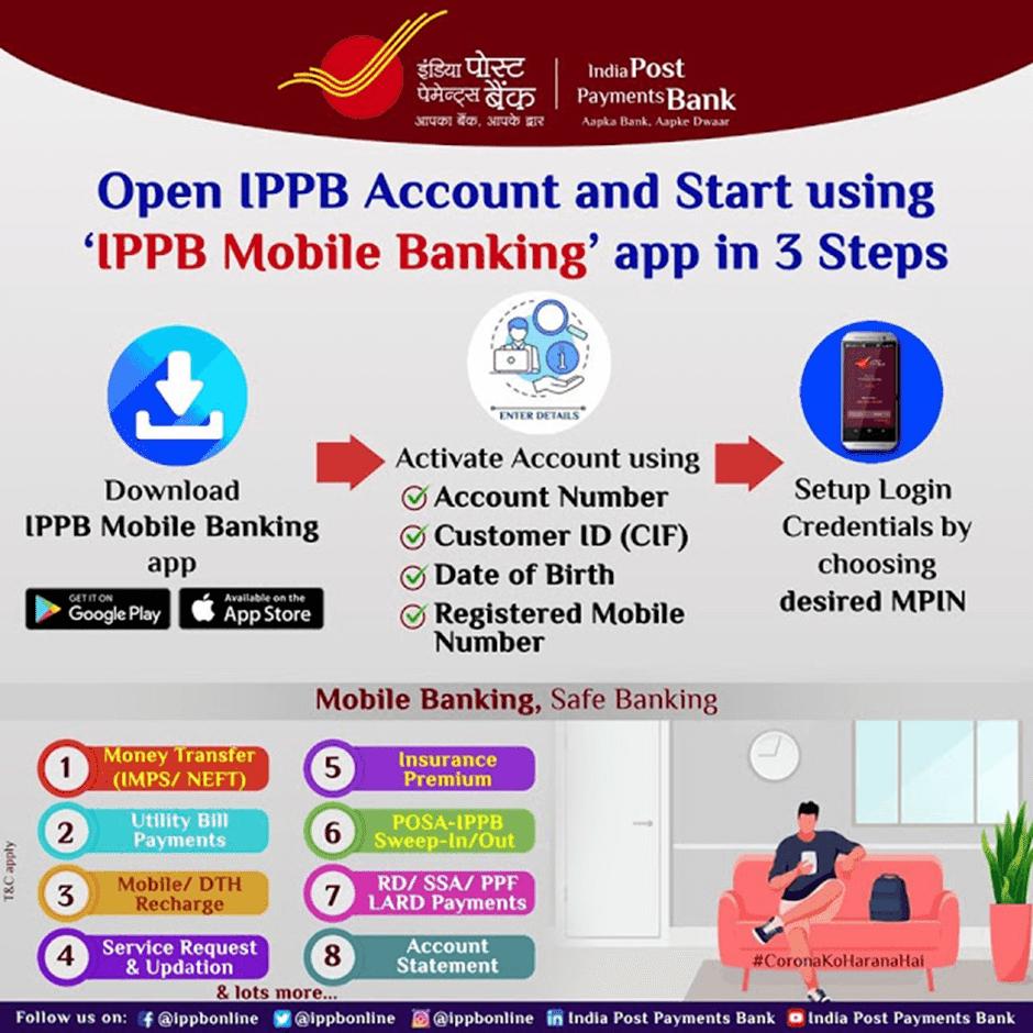 IPPB mobile Banking