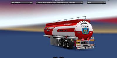 Truck Trailer Pertamina ETS2