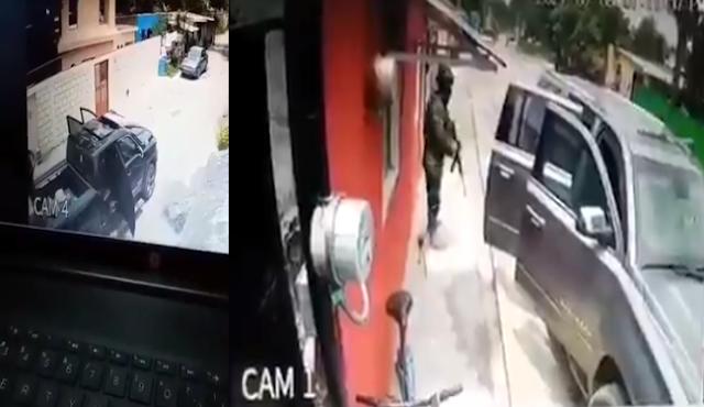 Video: En Montemorelos, Nuevo León un convoy llegó en camionetas de lujo entraron a unas casas y se llevan a varios hombres