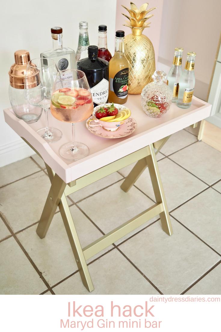 - Ikea Hack Maryd Mini Bar - Dainty Dress Diaries