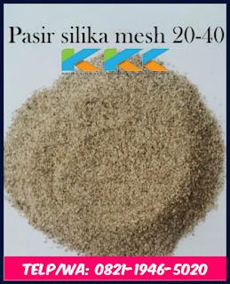 Pasir Silika Mesh 20-40
