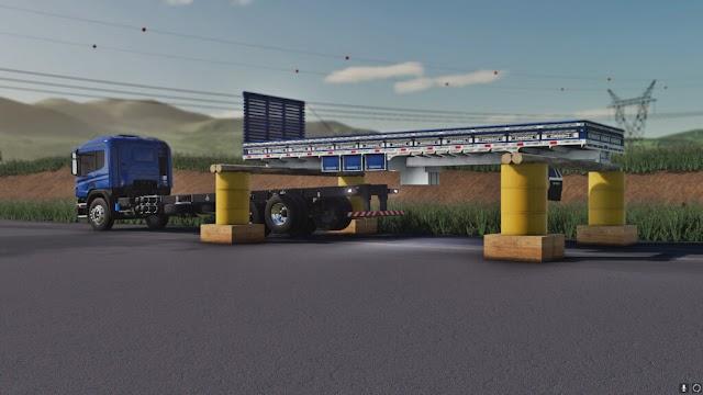 Caminhão AGM P310 e carroceria PC/Mac - XB1/PS4 v1.5.0.0