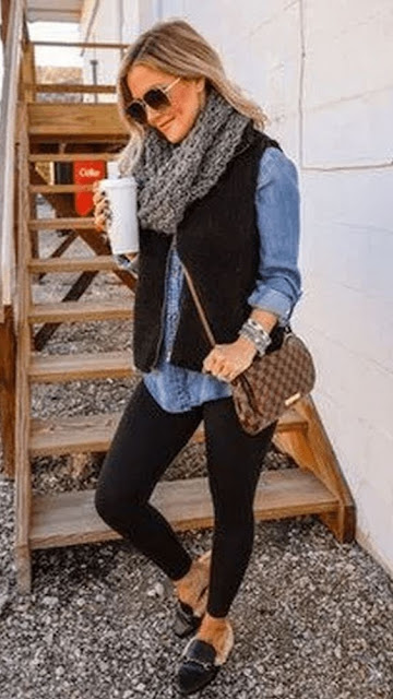 bralette outfit winter sweaters