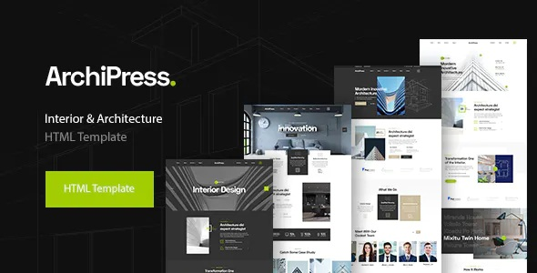 Best Architecture, Agency & Interior Design Template