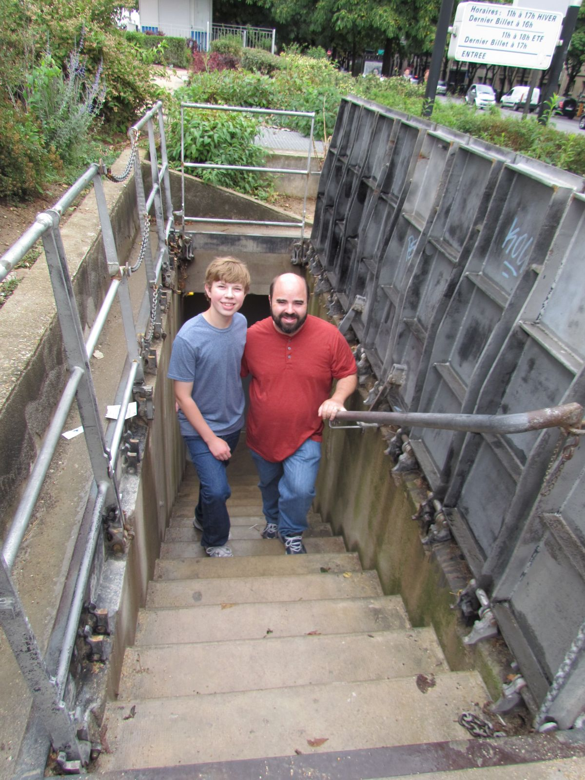 Travels With Bryan: Paris Sewer