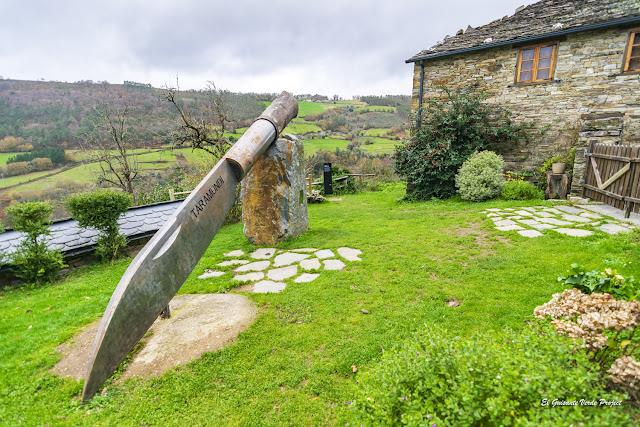 Navaja Gigante del Museo de la Cuchillería, Taramundi - Asturias