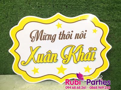 shop ban do trang tri sinh nhat tai Lang Ha