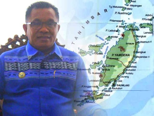 6 Februari, Petrus Fatlolon Terima PP Kabupaten Kepulauan Tanimbar