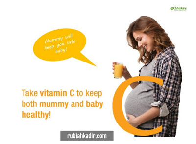 Kebaikan Vitamin C Untuk Ibu Mengandung