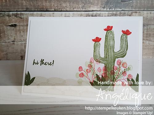 de Stempelkeuken Stampin'Up! producten koopt u bij de Stempelkeuken #stempelkeuken #stampinup #stampinupnl #stempelen #stamping #creatief #creatiefleven #crafting #handmadecards #cardmaking #cardmakersofinstagram #kaartenmaken #cactus #bloemen #planten #bloemenhoudenvanmensen #flowers #woestijn #hithere #hallo #workshop #diy #echtepostiszoveelleuker #denhaag #rijswijk #delft #westland #papercrafting #papercrafter