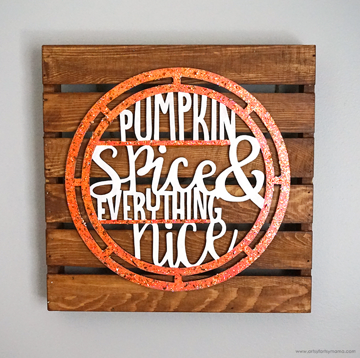 Fall Pumpkin Spice Sign
