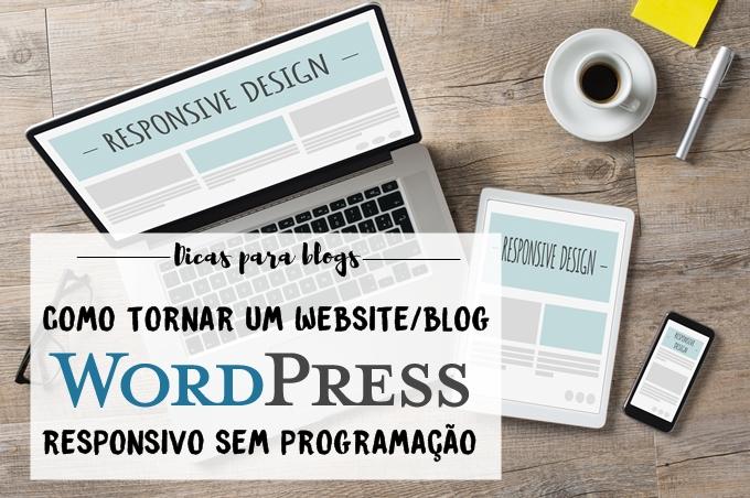 Como tornar um website Wordpress responsivo sem programação