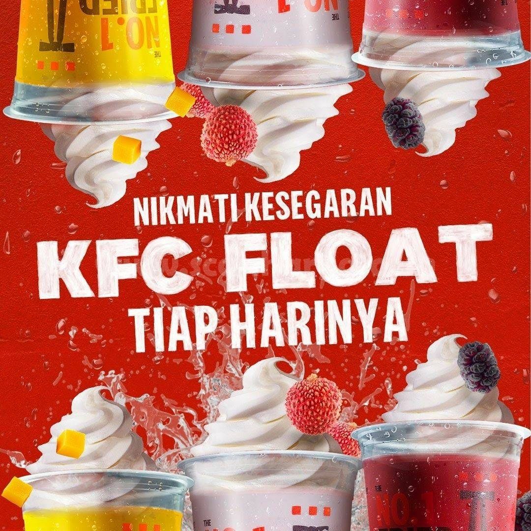 Promo KFC YUBARI FLOAT Harga mulai Rp. 12.727 Aja