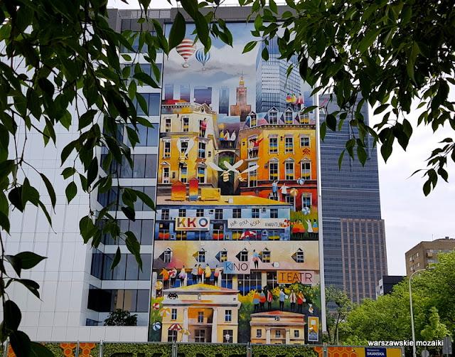 Warszawa Warsaw miasto city streetart street mural murale muralart Wola Skanska