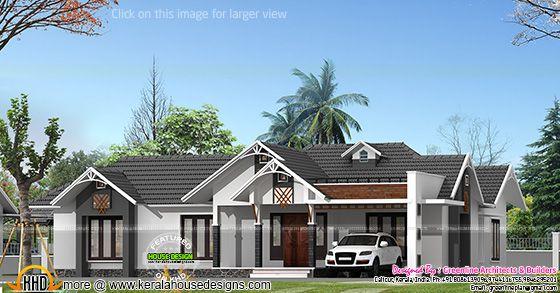 Single floor house