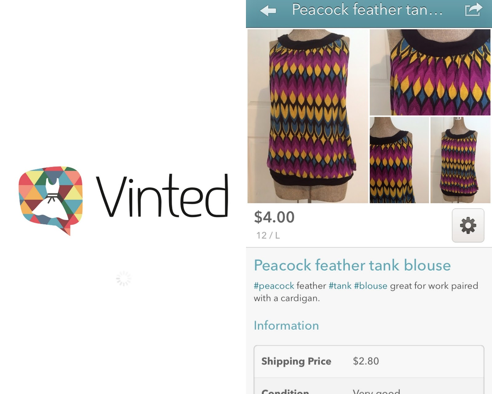 c7bd690aa71c five sixteenths blog  Vinted App Review   Tips for Selling