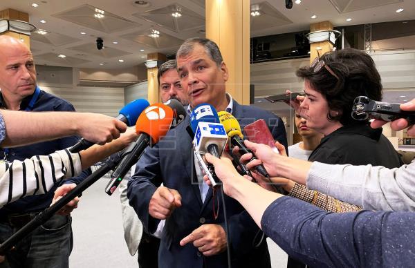 Correa a las elecciones en Ecuador? Los cargos por optar y acciones judiciales que enfrenta