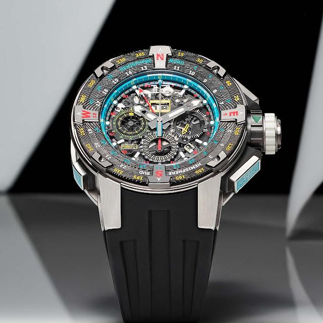 Richard Mille RM 60-01 Automatic Flyback Chronograph Les Voiles de St Barth