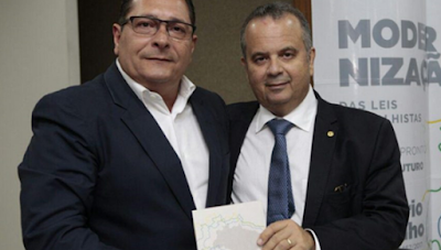 """Ezequiel: """"Rogério Marinho será grande no trabalho e nos ..."""