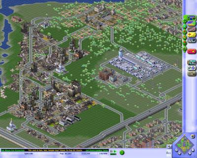 Pantallazo Videojuego Sim City 3000