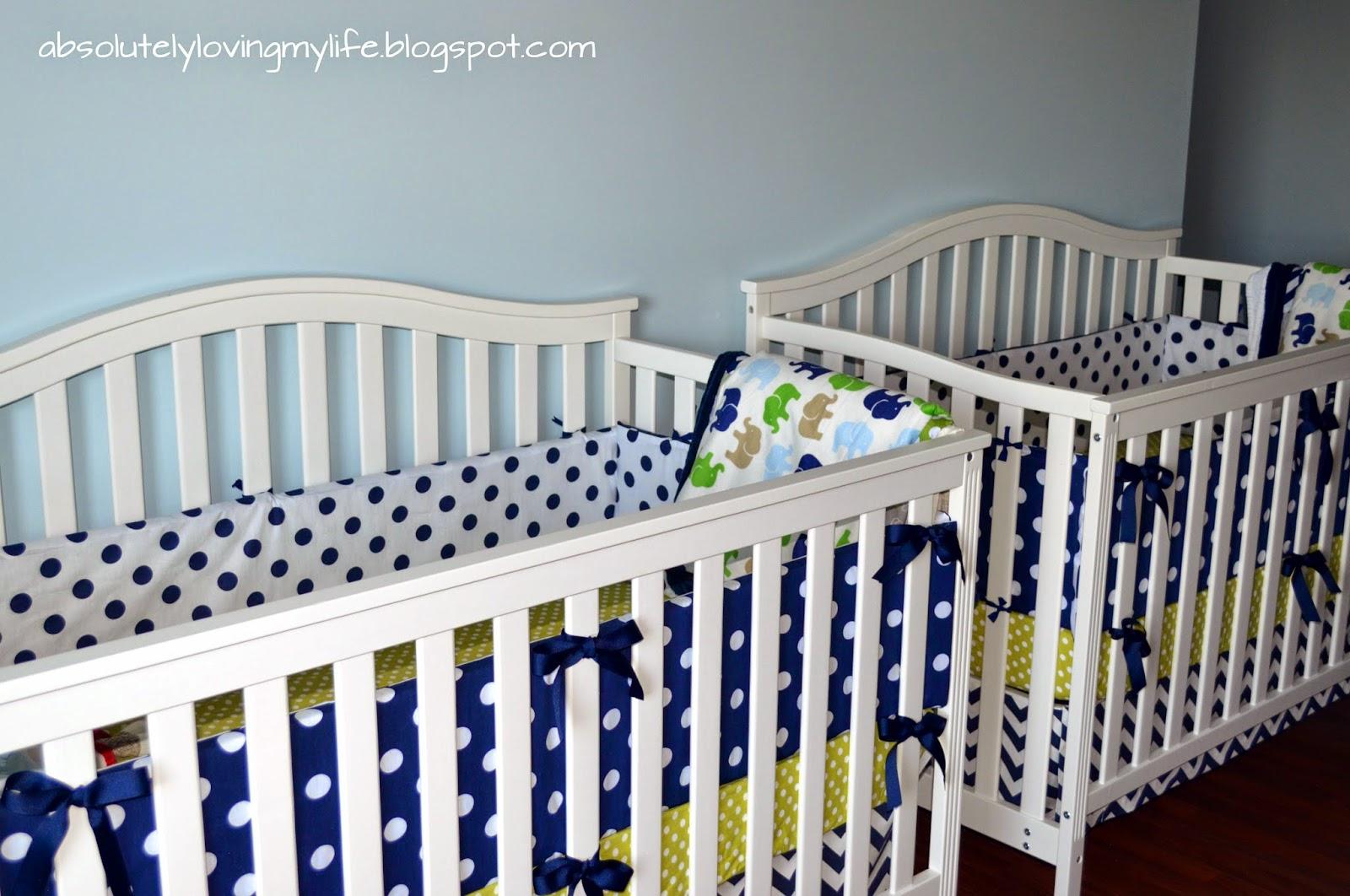 Crib Bumper Diy No Sew