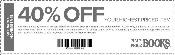 Half Price Books Coupon: SALE: 50% Off Best-Selling Books at Amazon (Free 2-Day Shipping w/Prime)