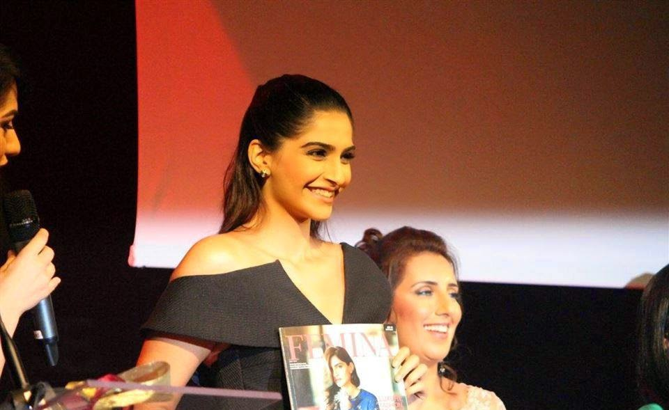 Sonam at the Launch of Femina Middle East
