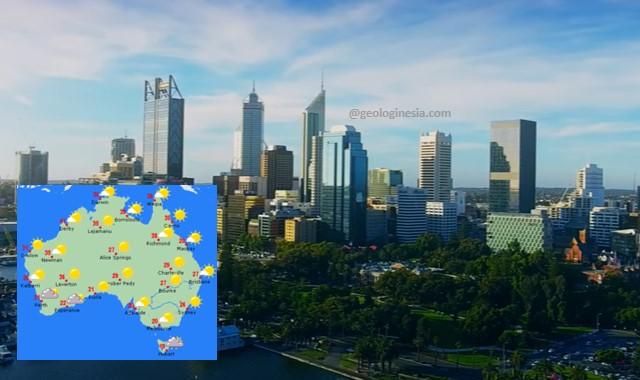 iklim negara australia