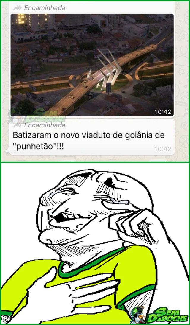 O BRASILEIRO E A NOVA HABILIDADE DE BATIZAR OBRAS PÚBLICAS