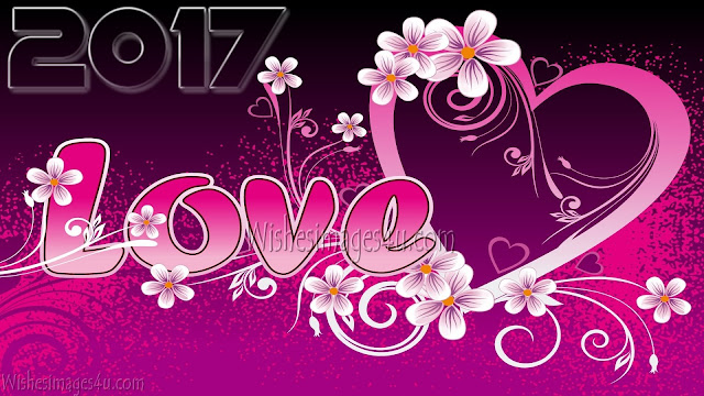 Happy New Year 2017 Romantic HD Love Wallpapers