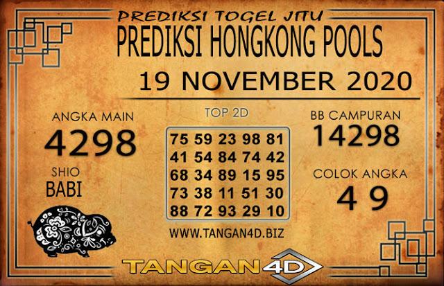 PREDIKSI TOGEL HONGKONG TANGAN4D 19  NOVEMBER 2020