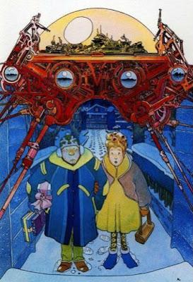 Futurismo y tradición en los mundos fantásticos dibujados por Moebius