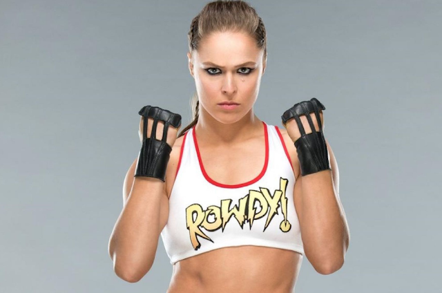 Ronda Rousey Wwe Rowdy Images Hd
