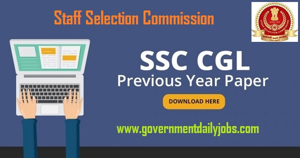 SSC Question Paper 2018