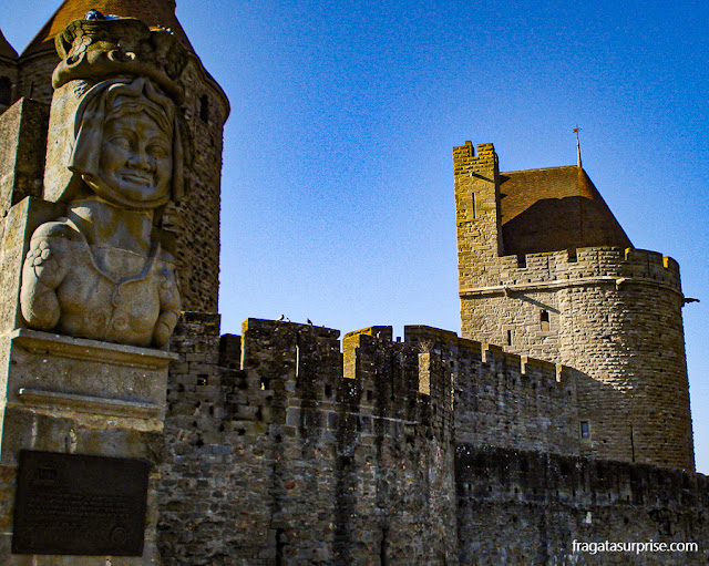 Carcas, governante de Carcassonne, França