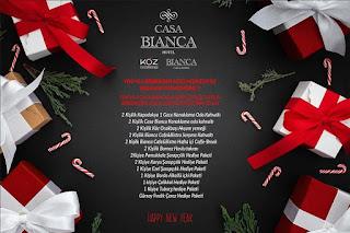 Casa Bianca Denizli Yılbaşı Programı 2020 Menüsü