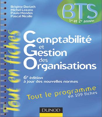 Livre BTS Comptabilité et Gestion des Organisations PDF