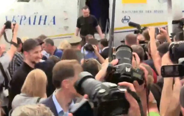 Оприлюднено список звільнених українців