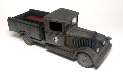 1/56 28mm German truck Phanomen Granit H25