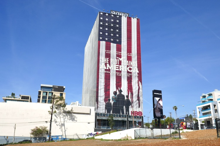 Plot Against America giant billboard