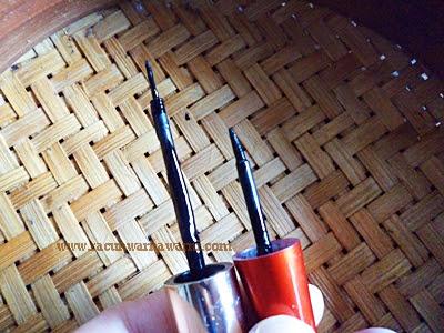 Perbandingan Aplikator Eyeliner