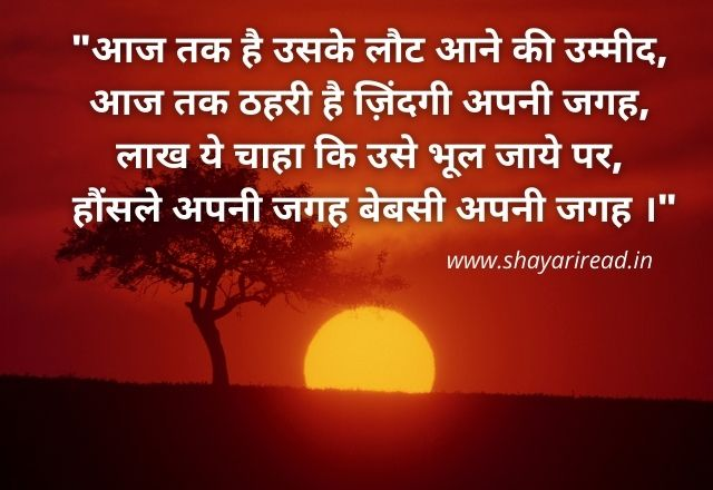 Heart Touching Miss You Shayari in Hindi