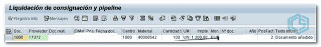 Liquidación de Consignación en SAP - Consultoria-SAP